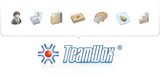 عناصر CRM في TeamWox