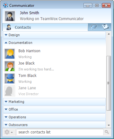 TeamWox Communicator