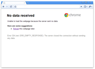 Google Chrome setup for working with a proxy server