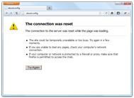 Mozilla Firefox setup for working with a proxy server