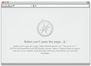 Apple Safari setup for working with a proxy server