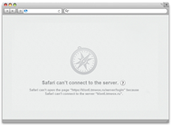 Apple Safari network environment setup