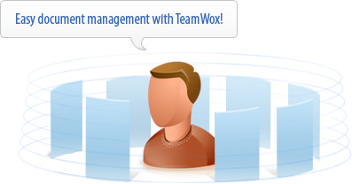 Easy document management with TeamWox