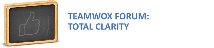 TeamWox Forum