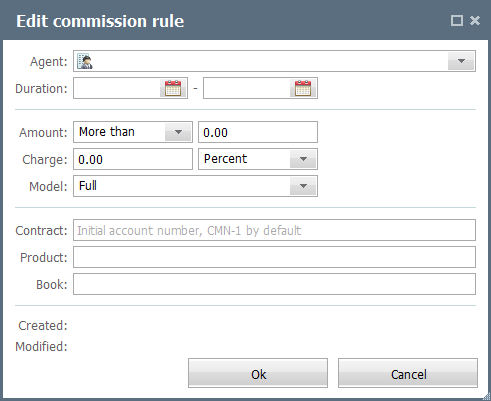 Edit Commission Rule