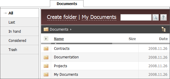 Documents Module